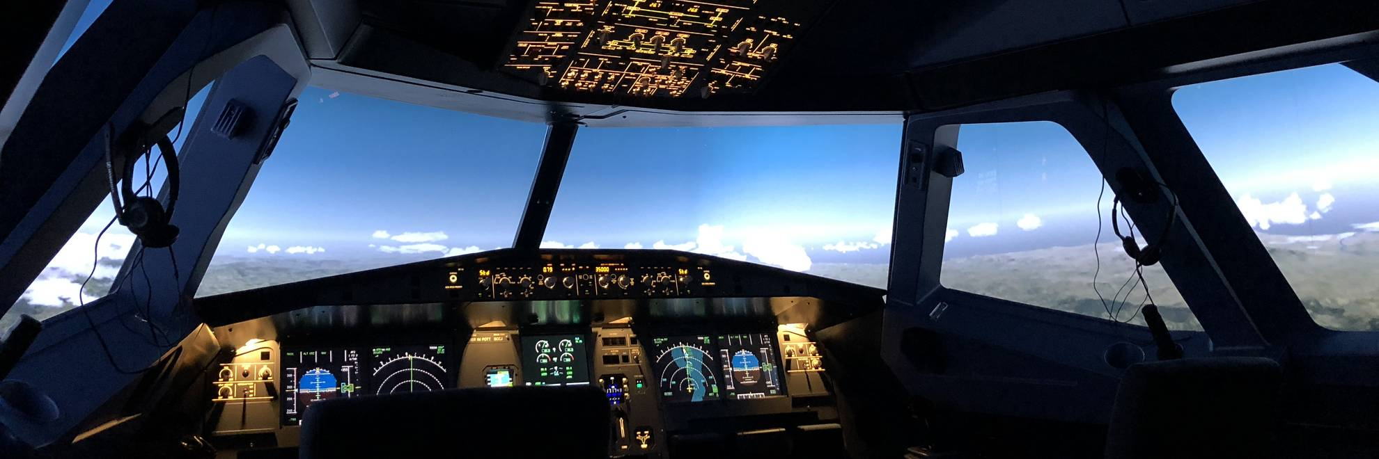 A320 flight simulator homecockpit