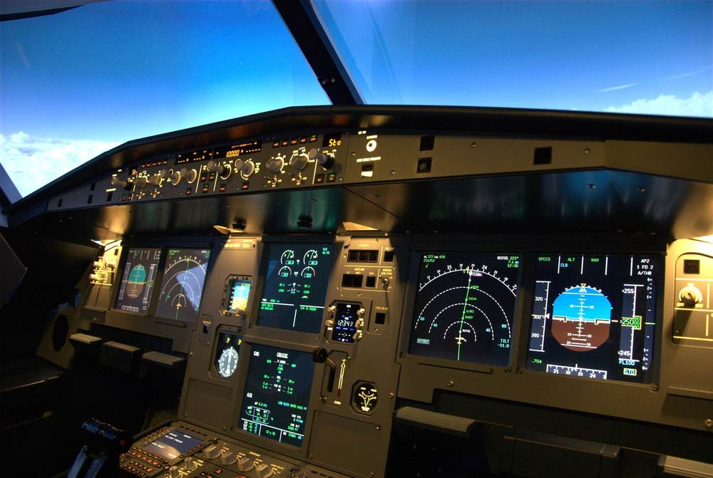 A320 Flight Simulator Main Instrument Panel (MIP)