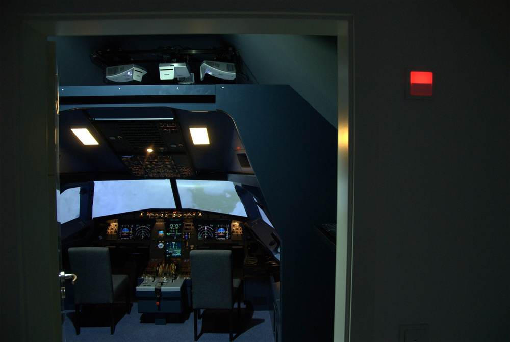 A320 Flight Simulator Installation