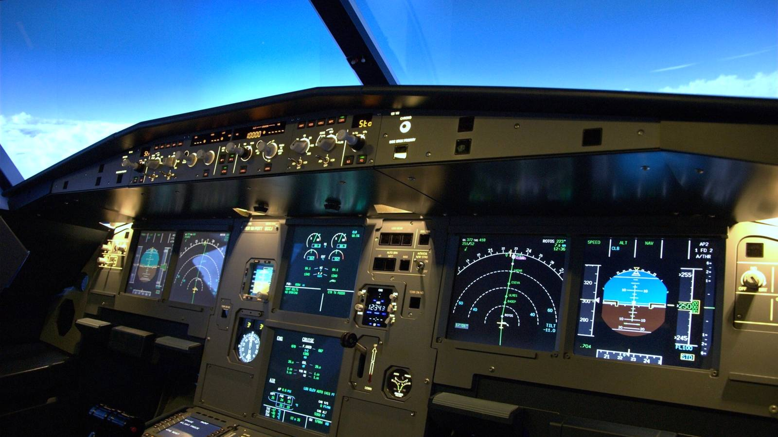 how to build an a320 flight simulator cockpit